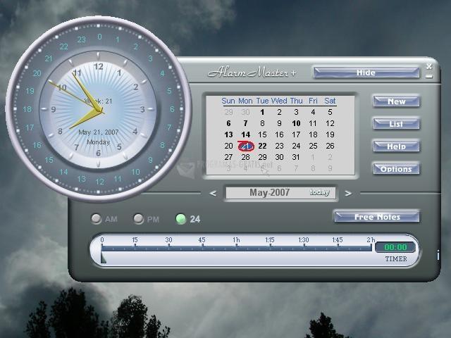Pantallazo Alarm Master Plus