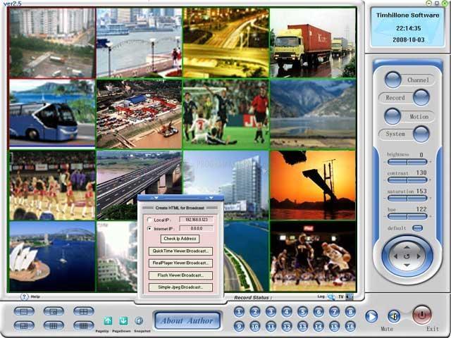 Pantallazo H264 WebCam Pro
