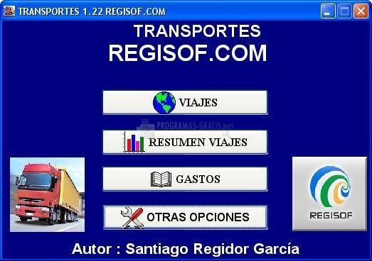 Pantallazo Transportes