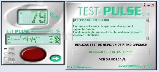 Pantallazo TestPULSE