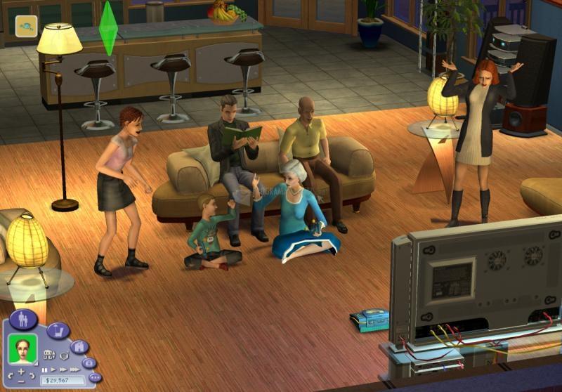 Pantallazo Los Sims 2: Universitarios Parche