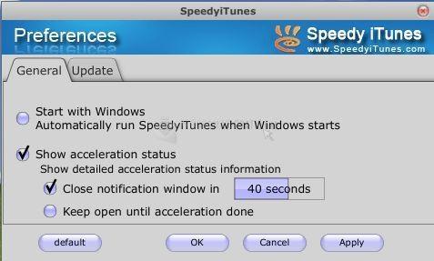 Pantallazo SpeedyiTunes