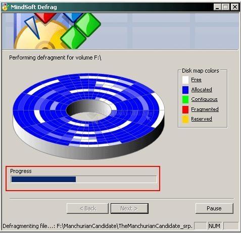 Pantalla Mindsoft Utilities XP