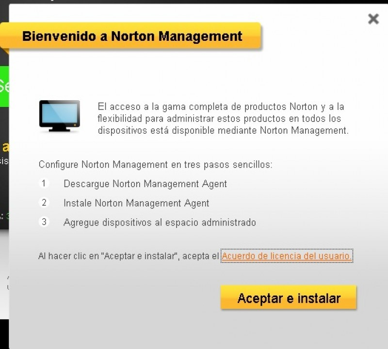 Captura Norton Internet Security