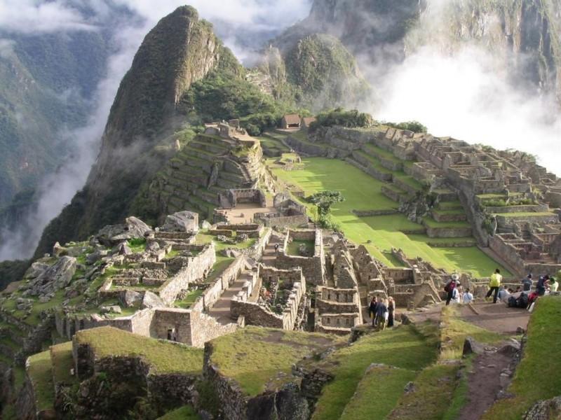 Pantallazo Machu Pichu Peru