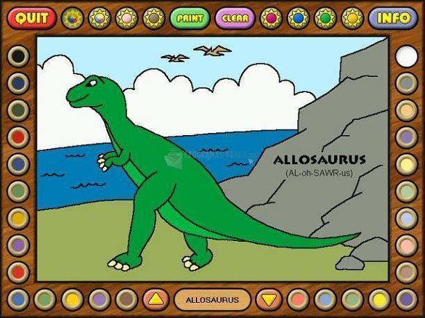 Pantallazo Coloring Book 2: Dinosaurs