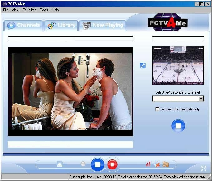 Pantallazo PCTV4Me