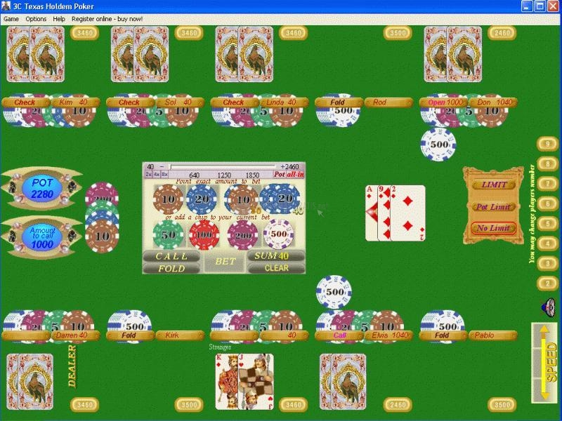 Pantallazo 3C Texas Holdem Poker