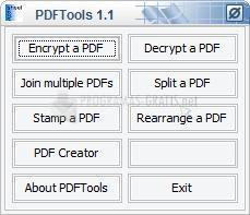Pantallazo PDF Tools