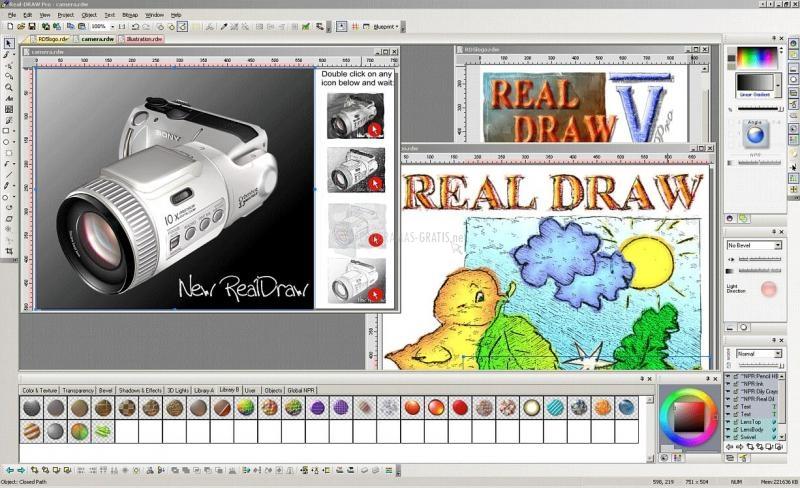 Pantallazo Real-Draw Pro