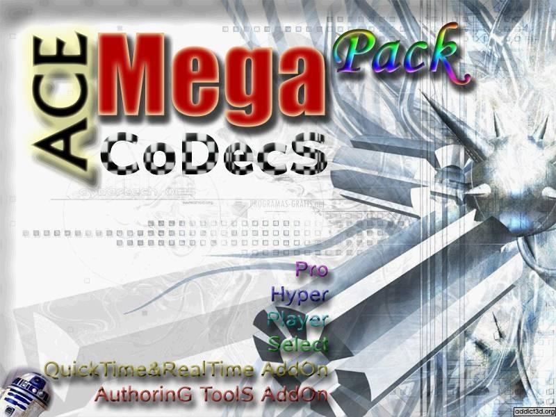 Pantallazo ACE Mega CoDecS Pack