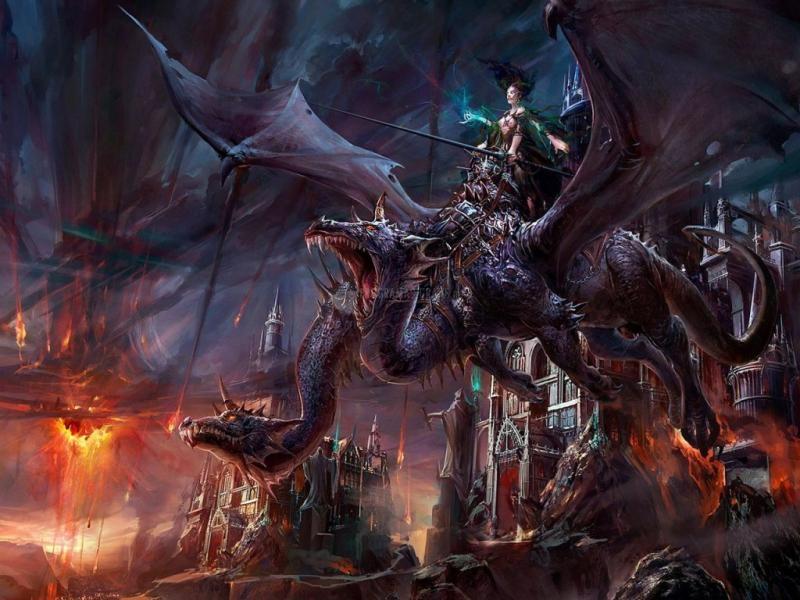 Pantallazo La Dama de los Dragones