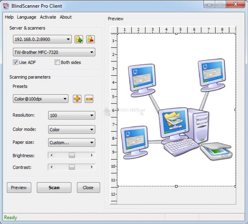 Pantallazo BlindScanner Pro