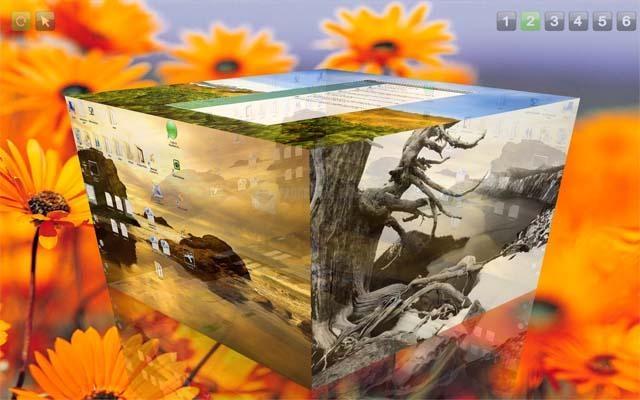 Pantallazo Cube Desktop