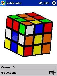 Pantallazo Rubik Cube