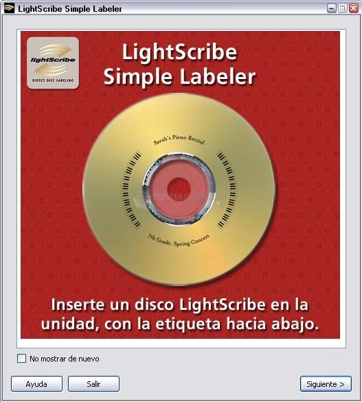 Pantallazo Simple Labeler