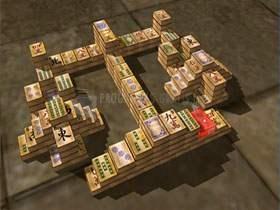 Pantallazo 3D Shangai Mahjong Unlimited