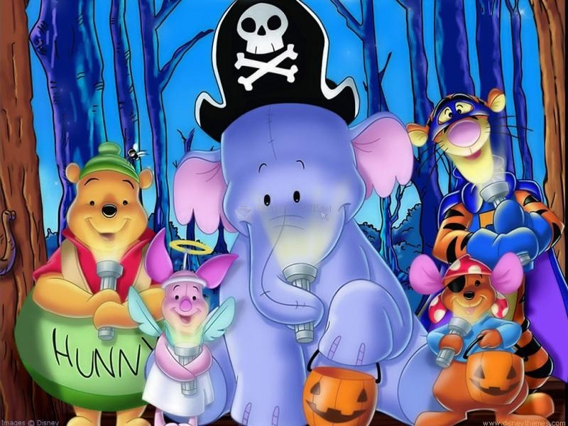 Pantallazo Halloween con Winnie de Pooh