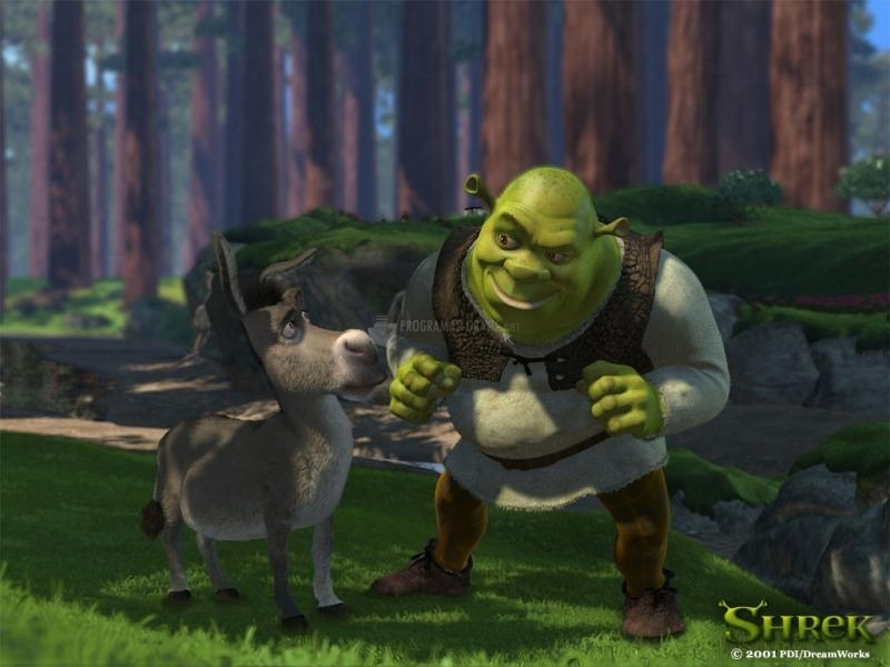 Pantallazo Shrek y Asno