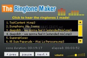 Pantallazo The Ringtone Maker