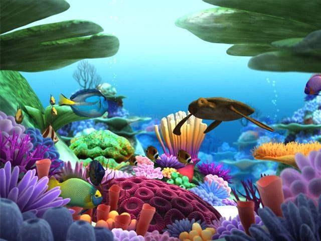 Pantallazo Marine Life 3D Screensaver