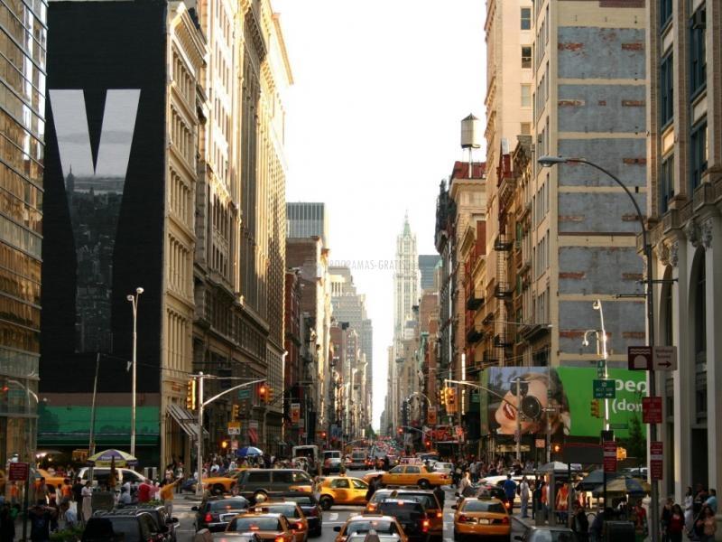 Pantallazo Calles de Nueva York