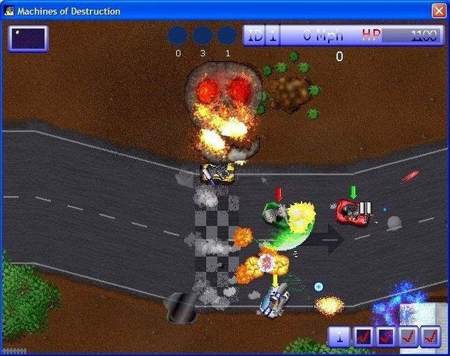 Pantallazo Machines of Destruction