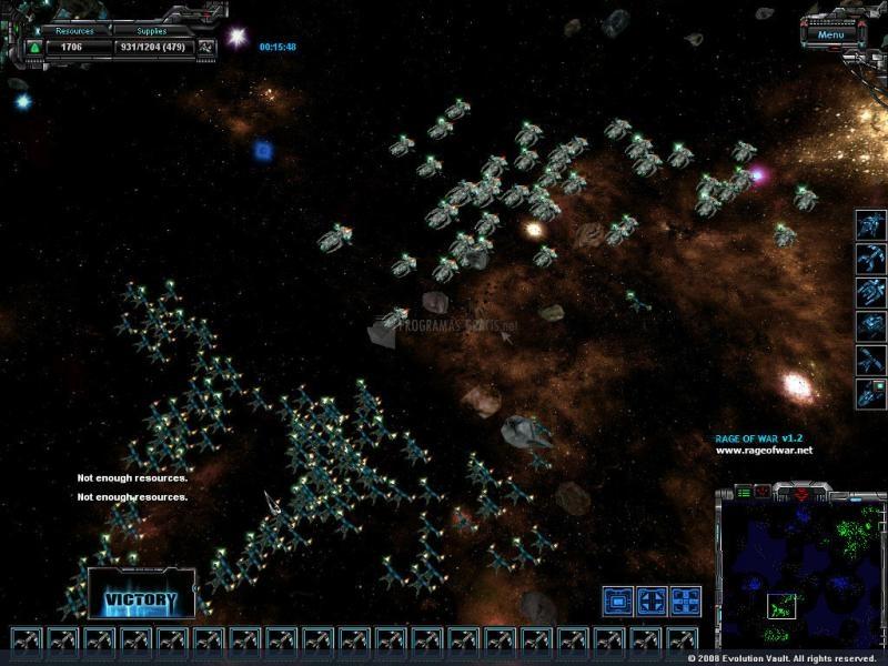 Pantallazo Galactic Dream - Rage of War