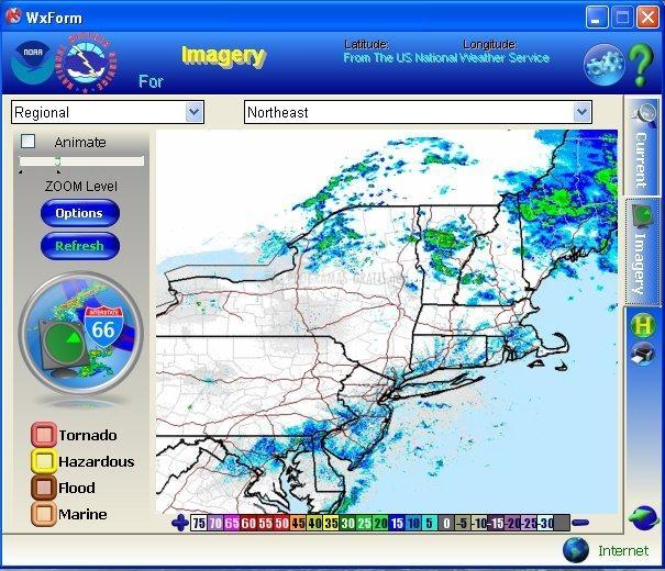 Pantallazo Alert+ Weather