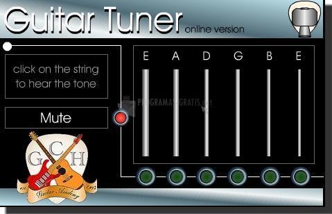 Pantallazo Free Guitar Tuner