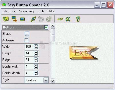 Pantallazo Easy Button Creator