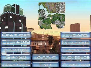 Pantallazo Everything about GTA San Andreas