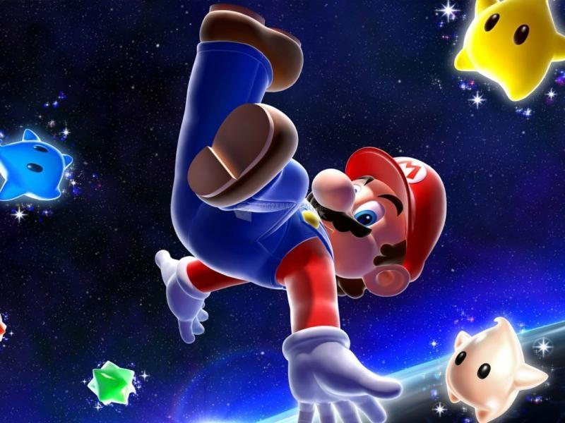 Pantallazo Mario Galaxy