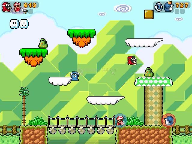 Pantallazo Super Mario Wars