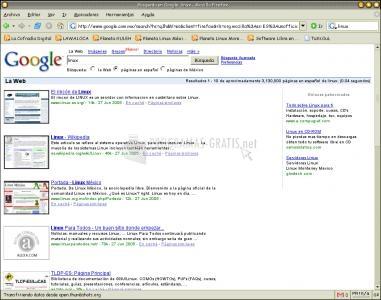 Pantallazo Google Preview