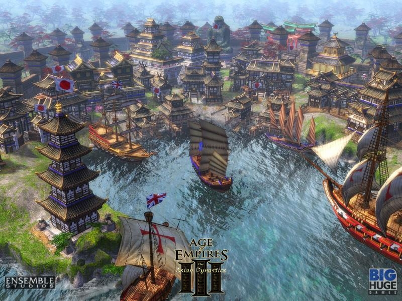 Pantallazo Age of Empires III: The Asian Dynasties