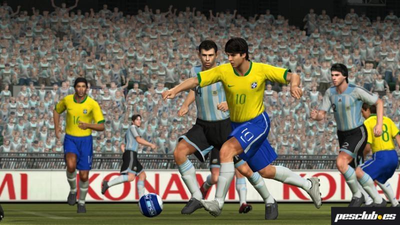Pantallazo Pro Evolution Soccer 2008