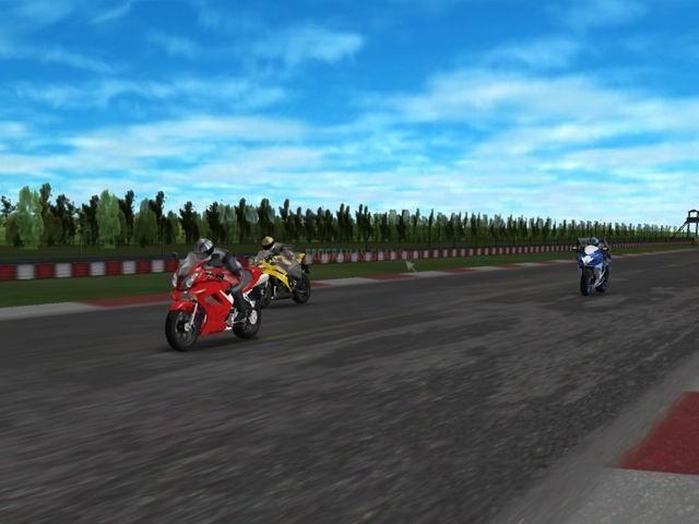Pantallazo Motorcycle Racing 3D
