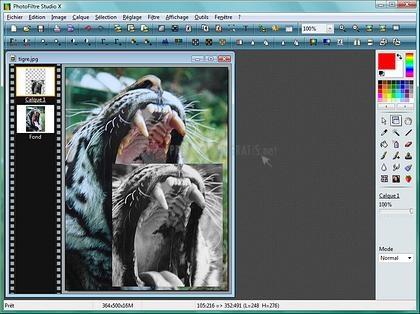 Pantallazo PhotoFiltre Studio X