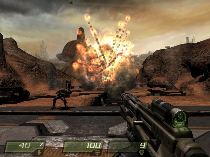 Pantallazo Quake 4