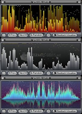 Pantallazo Classic Spectrum Analyzer