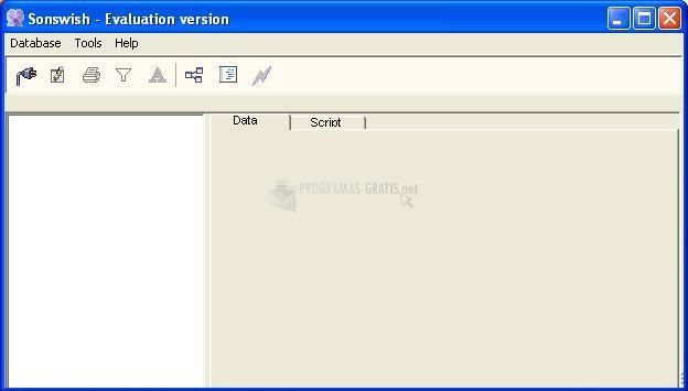 Pantallazo Sonswish Oracle Browser