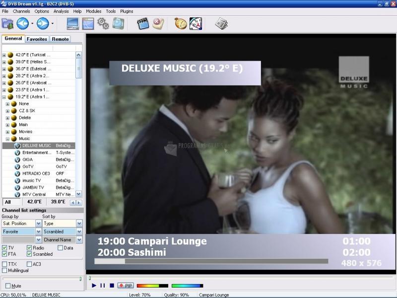 Pantallazo DVB Dream