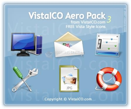 Pantallazo VistaICO Aero Pack