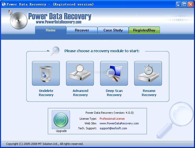 Pantallazo Power Data Recovery