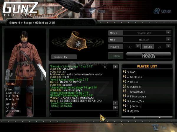 Pantallazo Gunz The Duel 2007