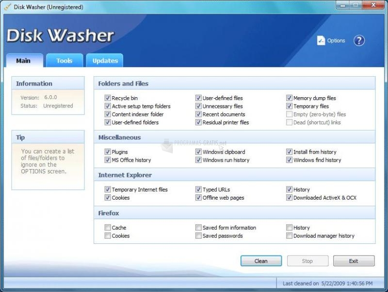 Foto Disk Washer