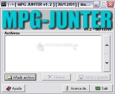 Pantallazo MPG-Junter