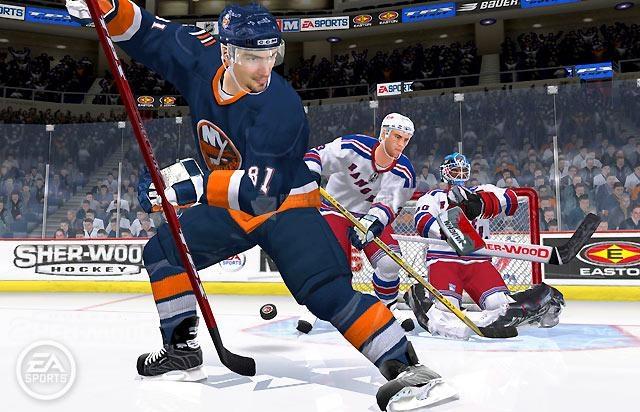 Pantallazo NHL 06