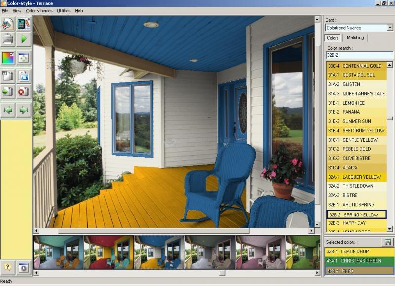 Pantallazo Color Style Studio